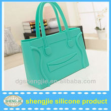 2015 Pop silicone texture hand bag