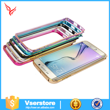 2016 popular Case for samsung galaxy S6 edge aluminum bumper case for Samsung metal cell phone case