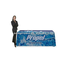 Tradeshow Table Cover - 6' Open Back Table Cover - Printed Full Color