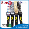 Custom new design sublimation screen printed resonable price guitar straps