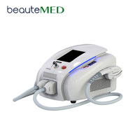 multi function beauty equipment e light rf depilacion ipl rf nd yag laser