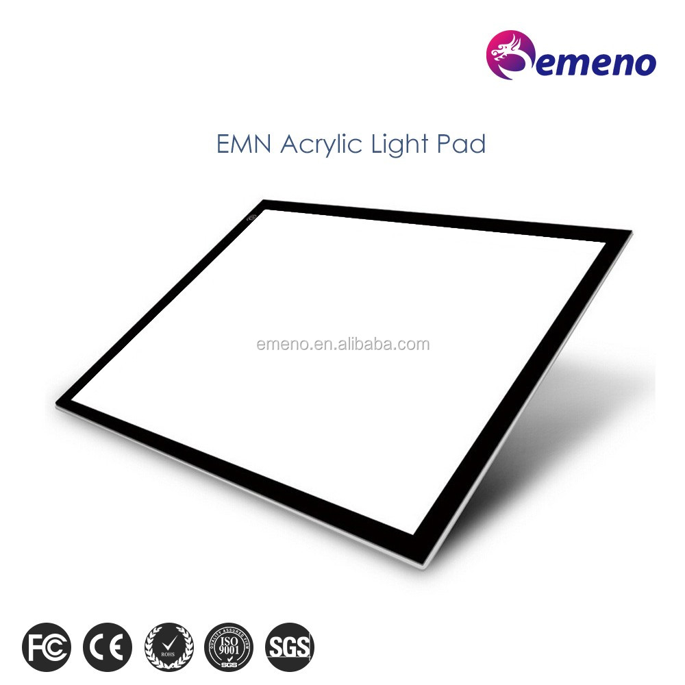 2016 hot selling led acrylic digital copy graphic drawing tablet