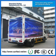 P10 rental indoor led display truck