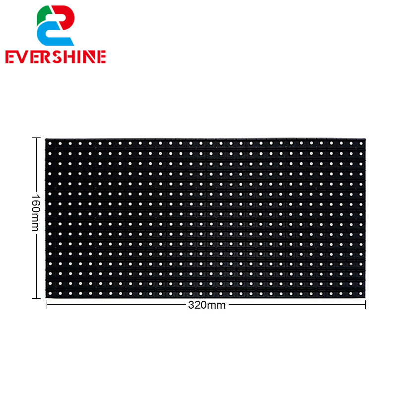 ShenZhen 10mm Pixel Pitch LED Advertising Digital Display Board Dot Matrix 32x16 <strong>P10</strong> Full <strong>Color</strong> SMD Outdoor LED Module