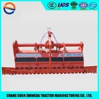 High efficiency Rice farm 3 points walk behind tractor pto rotary tiller price