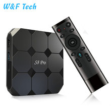 2018 New Design Google Voice Control Amlogic S905W S8 PRO Android TV box cheaper then M8S PRO W
