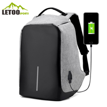 New Coming Customized Charing Backpack With USB Port, Travel Anti Theft Laptop Backpack Bag