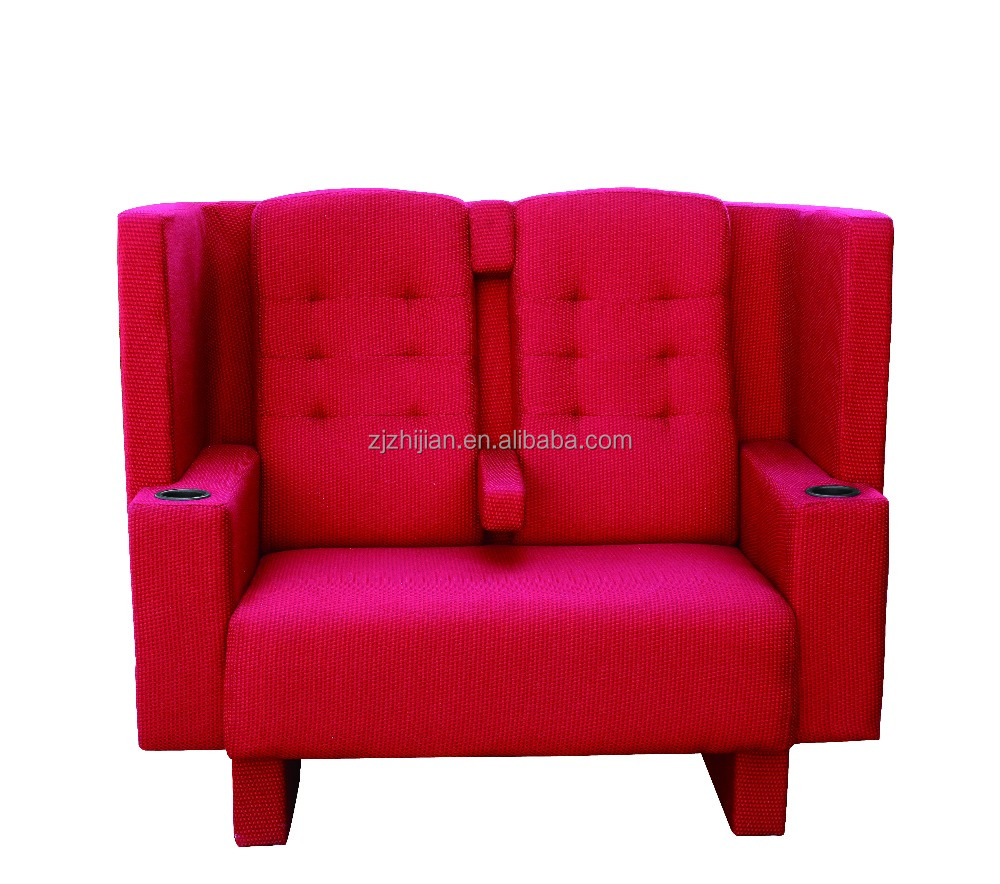 Love-seat sofa chair for lovers/Home cinema chair sofa for lovers