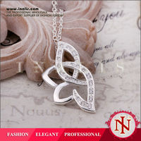 Elegant silver plated wholesale fashion jewelry thailand N389