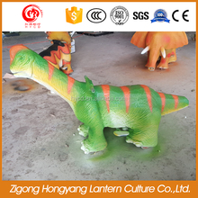 Amusement park dinosaur kiddie rides for kids