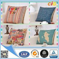 Eco-friendly Creative waterproof fabric outdoor cushion