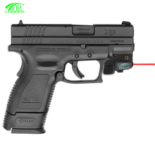 Tactical red laser sight pistol red dot sight scope with charging wire cable and plug charger