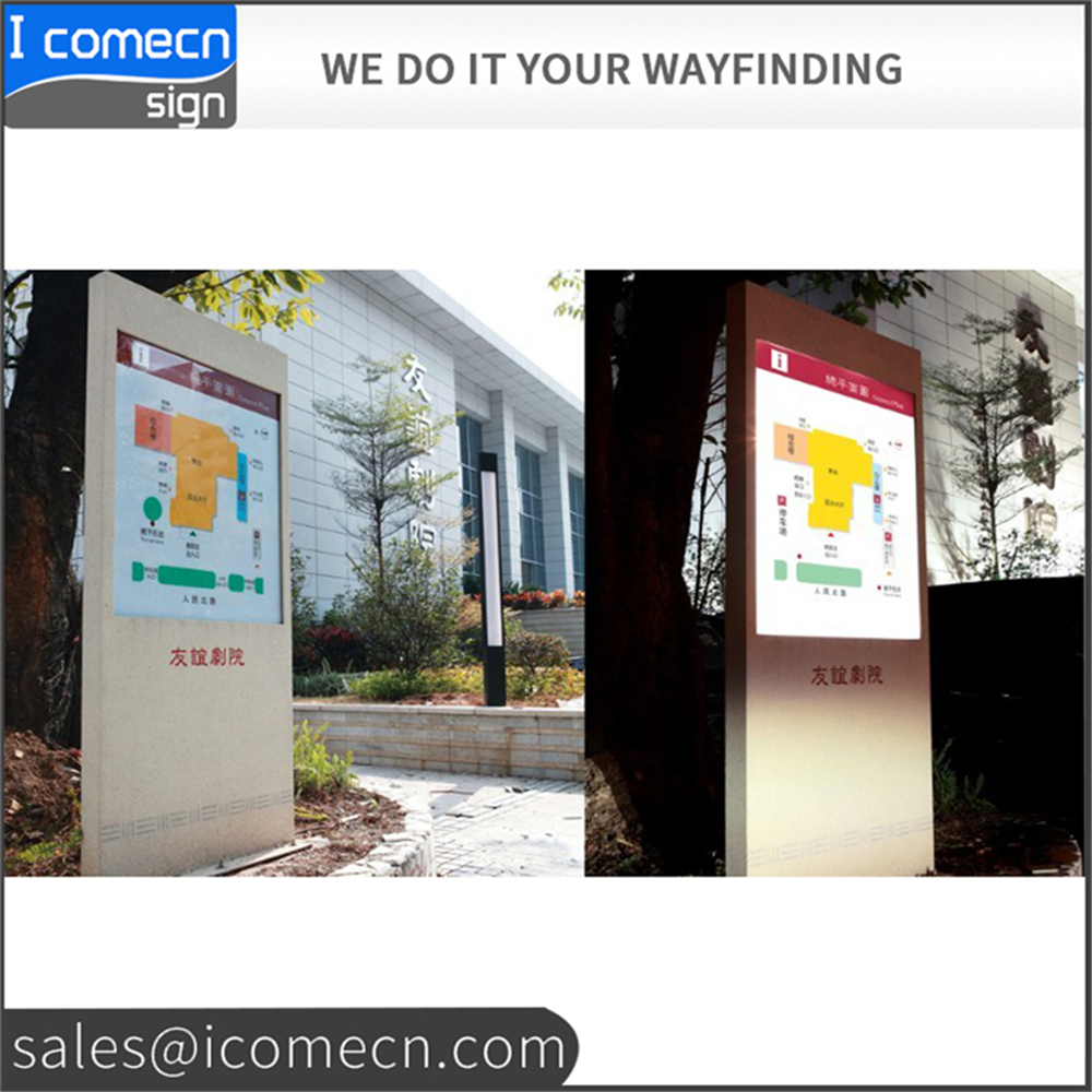Outdoor signage waterproof pylon sign company promotion totem sign <strong>advertising</strong> display pylon sign