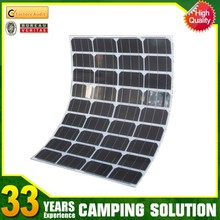 Small and Lightweight Semi Flexible Solar Panel