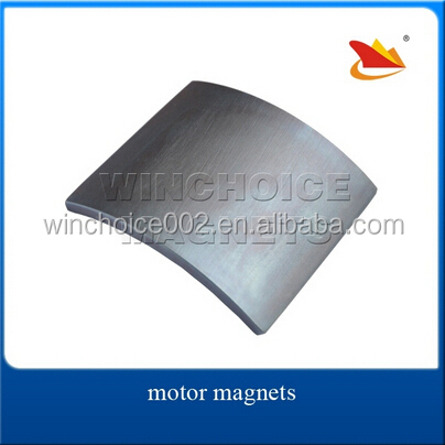 Neodymium Segment Magnets, Customized For Permanent Motor
