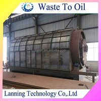 12mt 20mt high quality diesel oil extraction from the waste tyre or RUBBER