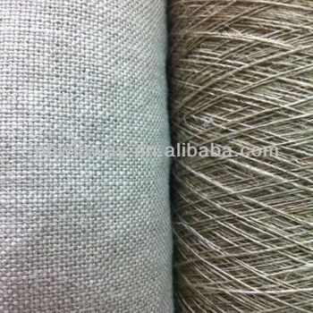 Coarse Flax /linen yarn/linen yarn for weaving/nature color linen roving