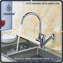 High quality commercial pull out kitchen faucet