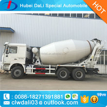 8/9cbm 6X4 Shacman new concrete mixer truck/ready mix concrete trucks
