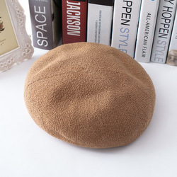 YKWW-499 Hot Selling custom military Beret Caps Casual Peaked Caps Pure Color Beret Hat for women