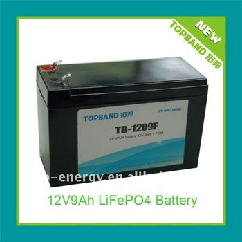 New Arrival 12V LiFePO4 Petro Motor Battery Pack with PCM Protection+Charger