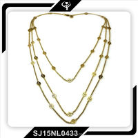 Hot Sale Fashion Accessories 18K Cross Stailess Necklace For Women Necklace Jewelry
