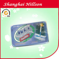 Disposable Dry Floor Antibacterial Cleaning Wipes Mop