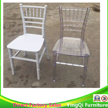 Wholesale Crystal Clear Wedding Tiffany Chiavari Chairs for Kids