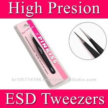 PINKISS Tweezers for eyelash extension/eyelash extension