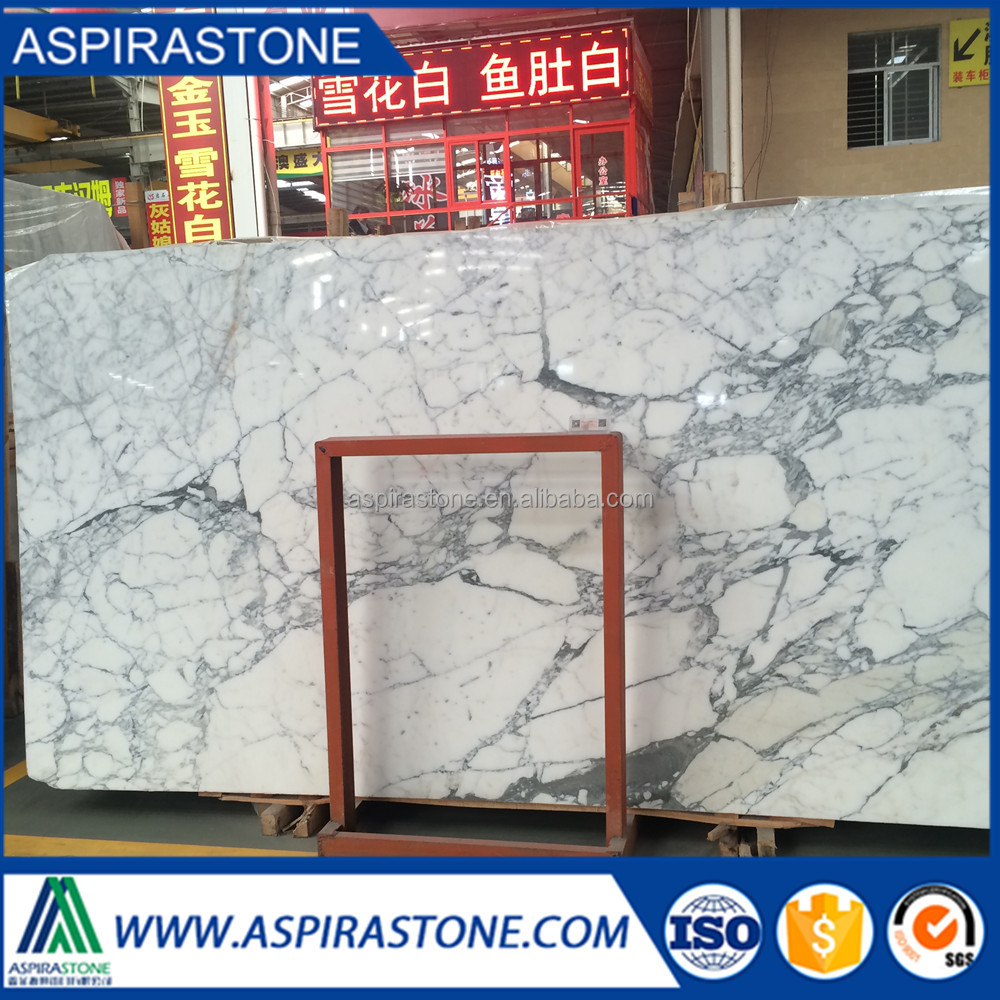 1.8cm marble slab price of italian statuario marble