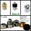2014 wholesale alibaba hot sell Storm V2 dual coils rebuildable atomizer ecigator ecig