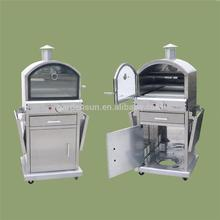 High Efficiency grill top pizza oven with great price