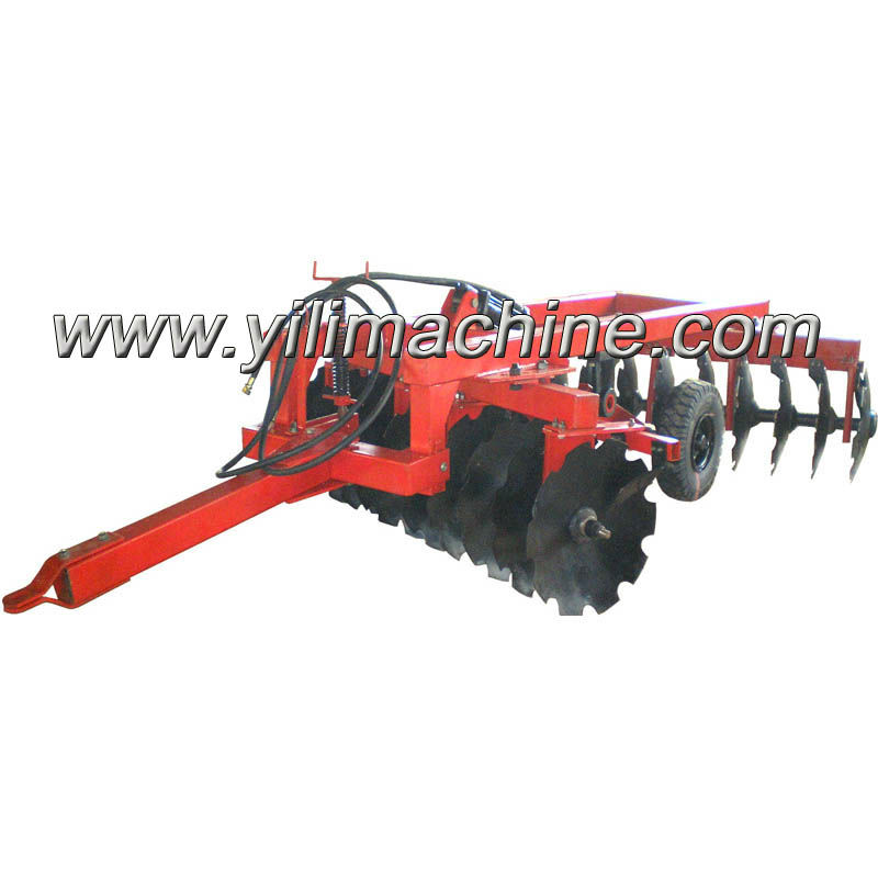 4wd tractor Trailed heavy duty offset disc harrow pull type disc harrow for sale