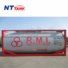 High quality 20 feet food grade transport milk cooling tank price