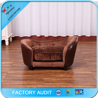 dog bed luxury with removable cushion
