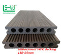 140 22mm hollow solid and co-exrusion wpc decking