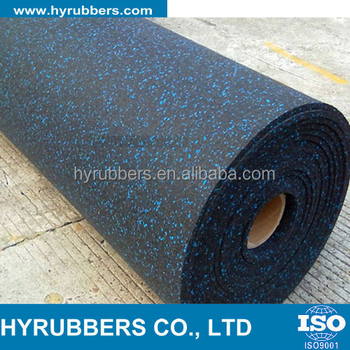 EPDM material 6mm Rubber Flooring Roll