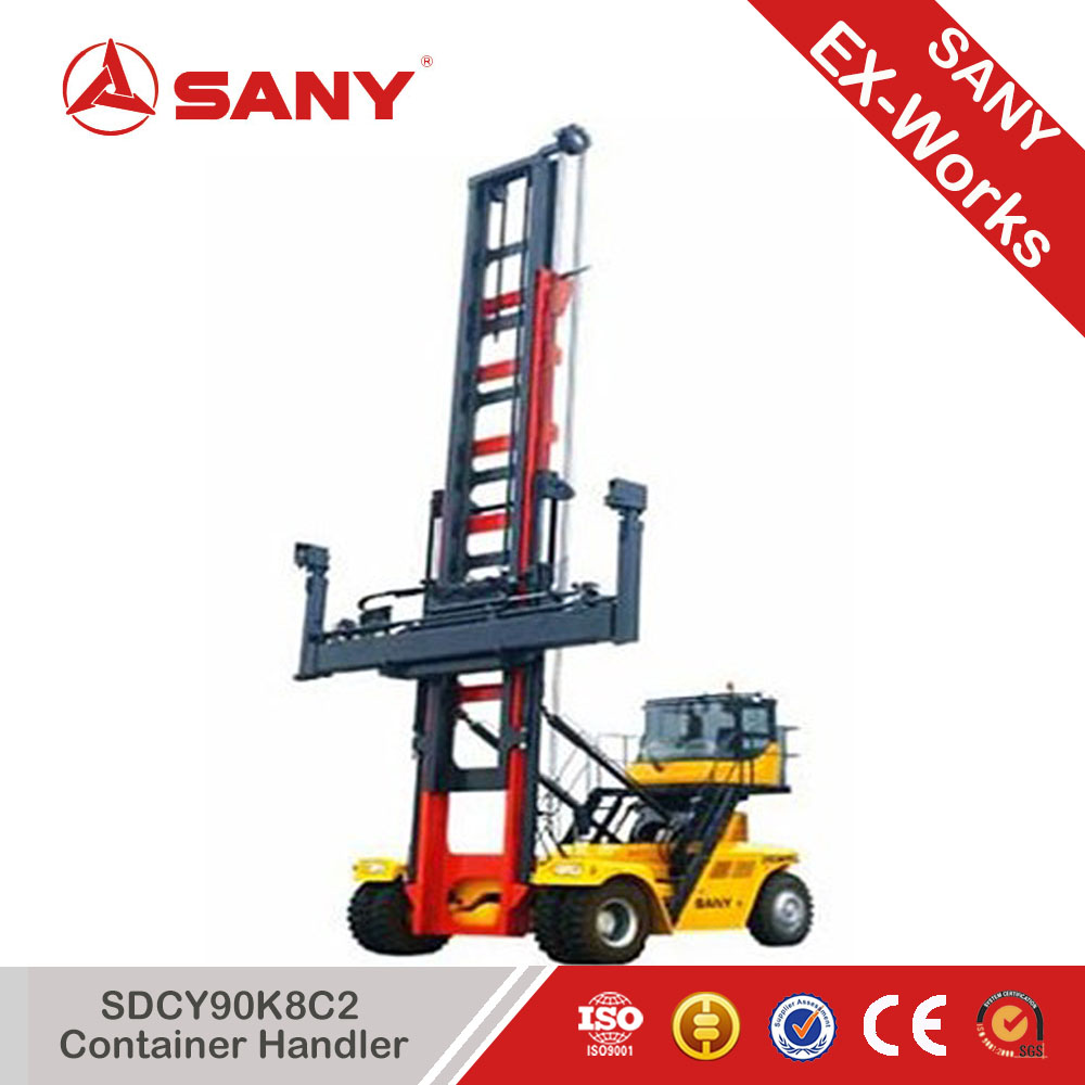 SANY SDCY90K8C2 Empty Container Handler for Sale In 2 Containers Spreader
