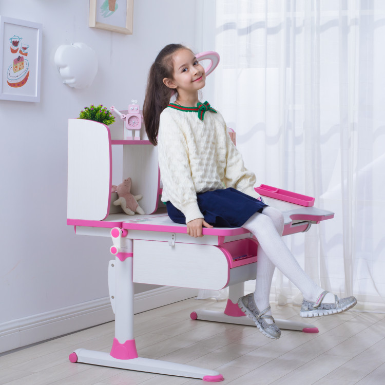 kids furniture sets study desk and ergo chair A120