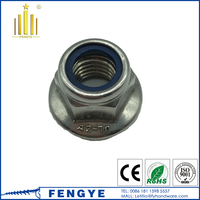 304 Stainless Steel M4 Hex Flange