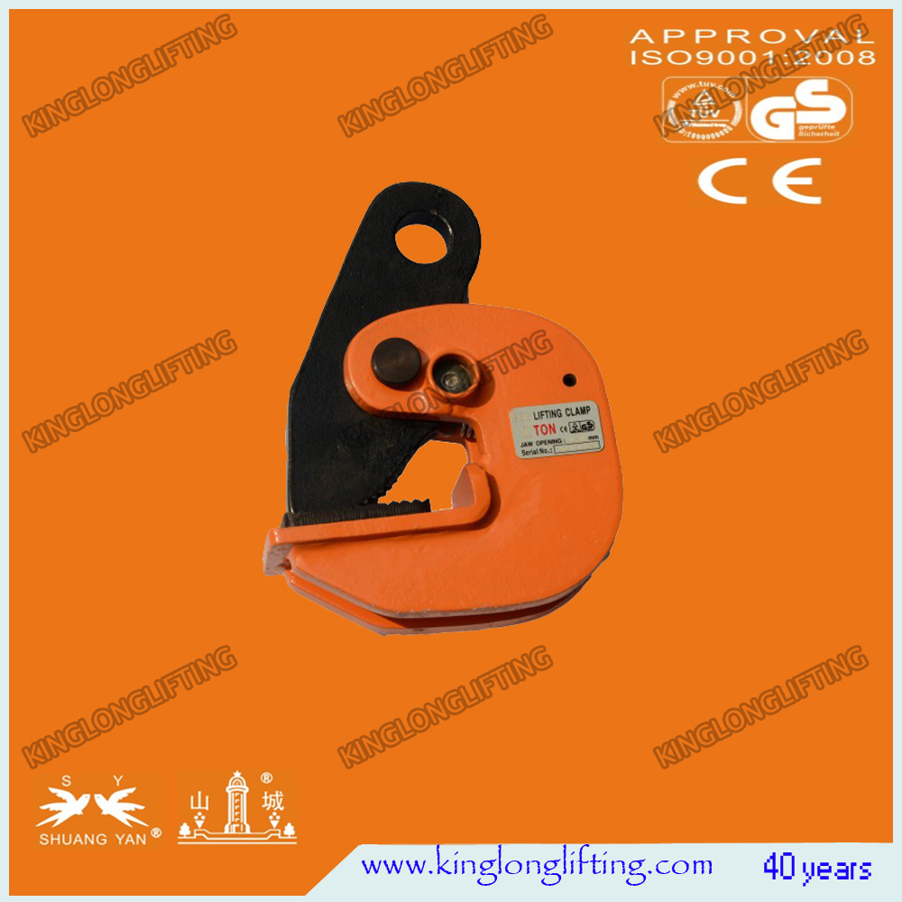 PDB Horizontal Lifting Clamp/Tongs with Loading Capacity 0.8-30 Ton available
