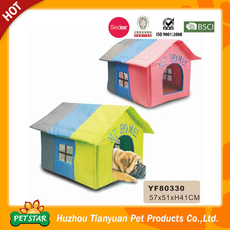 2016 New Pet Products Colorful Design Comfortable Indoor Dog House For Sale