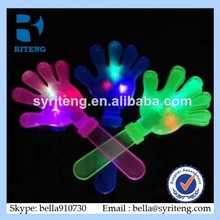Large clapping device neon for palm shoot flash light hand shot Party toys Luminous glow Events