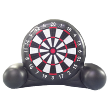 China Guangzhou factory cheap inflatable dart board inflatable sports darts game