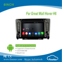 "Quad Core 8"" Android 4.4.4 Car radio for Great Wall Hover H6 with HD Touch Screen GPS Navigator Wifi 3G Bluetooth"