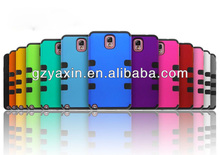 Colorful Robot Case For Samsung Note3,New Style Double Color Case For Samsung Note3,Color Case