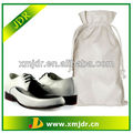 2013 New Design Cotton Canvas Drawstring Shoe Bag