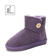 New arrival fashion ankle boots for girls woman leather