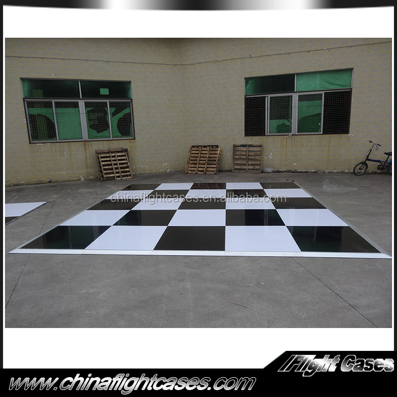 Wholesale rgb color dance floor wedding events decor