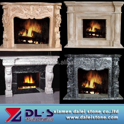 Top Quality China Black Granite Fireplace Hearth Slabs